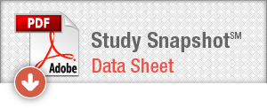 Download Study Snapshot Data Sheet