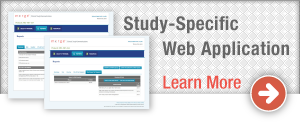 Study-Specific Web Application